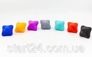 Мяч для реакции FI-6987 (силикон, цвета в ассортименте)