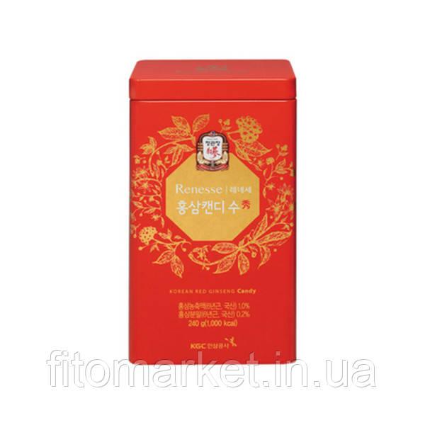 Льодяники з червоним корейським женьшенем ТМ Корея Женьшень Корпорейшин/Korea Ginseng Corporation 240 г