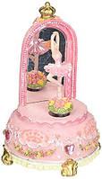 Музыкальная шкатулка Королевская балерина перед зеркалом