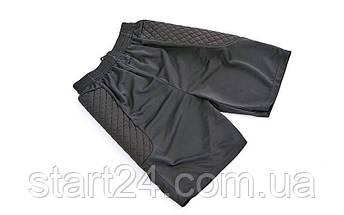 Шорты футбольного вратаря CO-5537 (полиэстер, р-р L-XXL, черный), фото 3