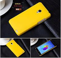 Пластиковий чохол для Meizu MX2 жовтий, фото 1