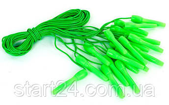 Скакалка с PVC жгутом FI-4408 (10шт в уп., цена за 1шт) (l-2,7м,d-4,6мм,цвета в ассортименте) (318), фото 2