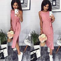 Женское платье летнее легкое длина миди софт 42-48 размеров, 3 цвета