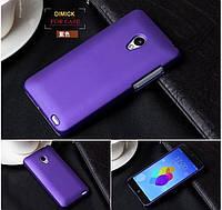 Пластиковий чохол для Meizu MX2 фіолетовий, фото 1