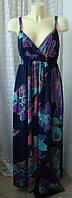 Платье женское летнее в пол сарафан макси бренд New Look р.46