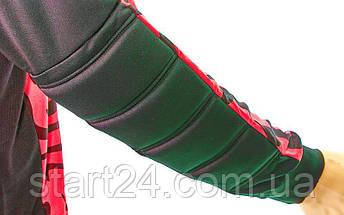 Форма футбольного вратаря юниорская CO-0233-R (PL, р-р S-M-42-46(28-30), красный-черный), фото 3
