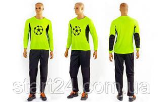Форма футбольного вратаря GOAL CO-5906-LG 026 (PL, р-р L-XXL, салатовый)