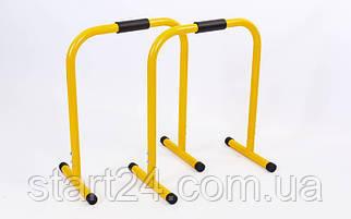 Эквалайзер тренировочный (2шт) FI-1219 EQUALIZER (металл, р-р 58,5x45x74см, желтый)