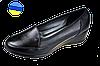 Женские туфли кожаные классические mida 21382ч черные   весенние