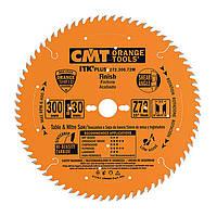 Пильный диск по дереву CMT для торцевания (тонкий рез) 216Х30 мм Z48 (272.216.48M)