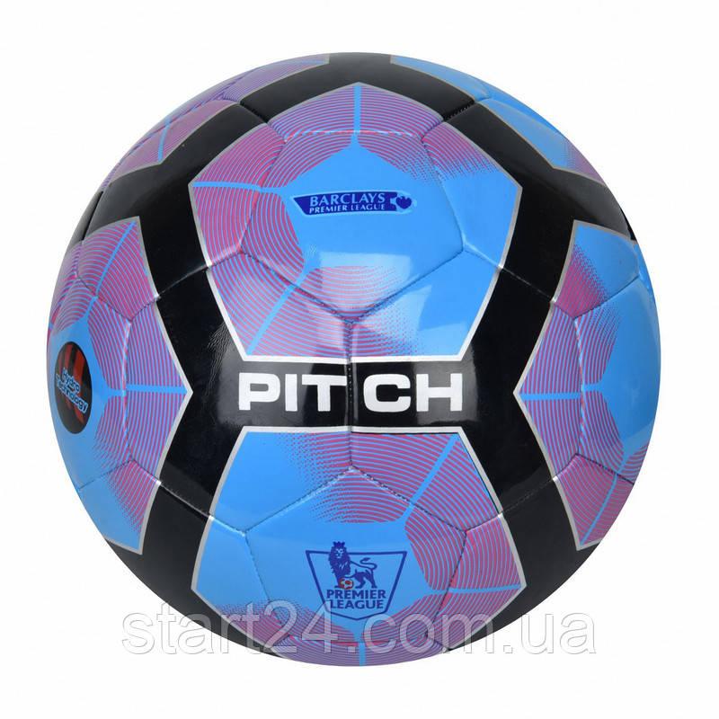 Мяч футбольный №5 PU HYDRO TECNOLOGY SHINE PREMIER LEAGUE FB-5830 (№5, 5 сл., сшит вручную)