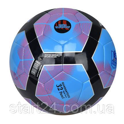 Мяч футбольный №5 PU HYDRO TECNOLOGY SHINE PREMIER LEAGUE FB-5830 (№5, 5 сл., сшит вручную), фото 2