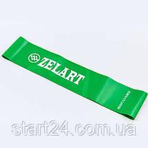 Лента сопротивления LOOP BANDS FI-8228-4 (латекс, размер 500x50,8x0,9мм, жесткость М, зеленый), фото 2