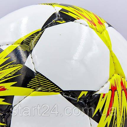 М'яч футбольний №3 PU ламін. CHAMPIONS LEAGUE FINAL KYIV 2018 FB-0102 (№3, 5 сл., зшитий вручну), фото 2