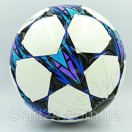 Мяч футбольный №5 PU ламин. LIGA CHAMPIONS 2018 FB-8129 (№5, 5 сл., сшит вручную), фото 2