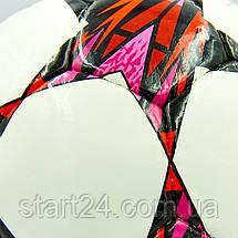 Мяч футбольный №4 PU ламин. LIGA CHAMPIONS 2018 FB-8265 (№4, 5 сл., сшит вручную), фото 2
