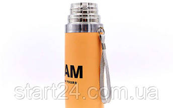 Сталевий Термос 500ml I AM 2416 (кольори в асортименті, сталь), фото 2