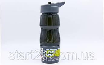 Бутылка для воды спортивная со стаканом SP-Planeta SPORT 600 мл 6623 (PC, черный, синий, красный, салатовый ), фото 3
