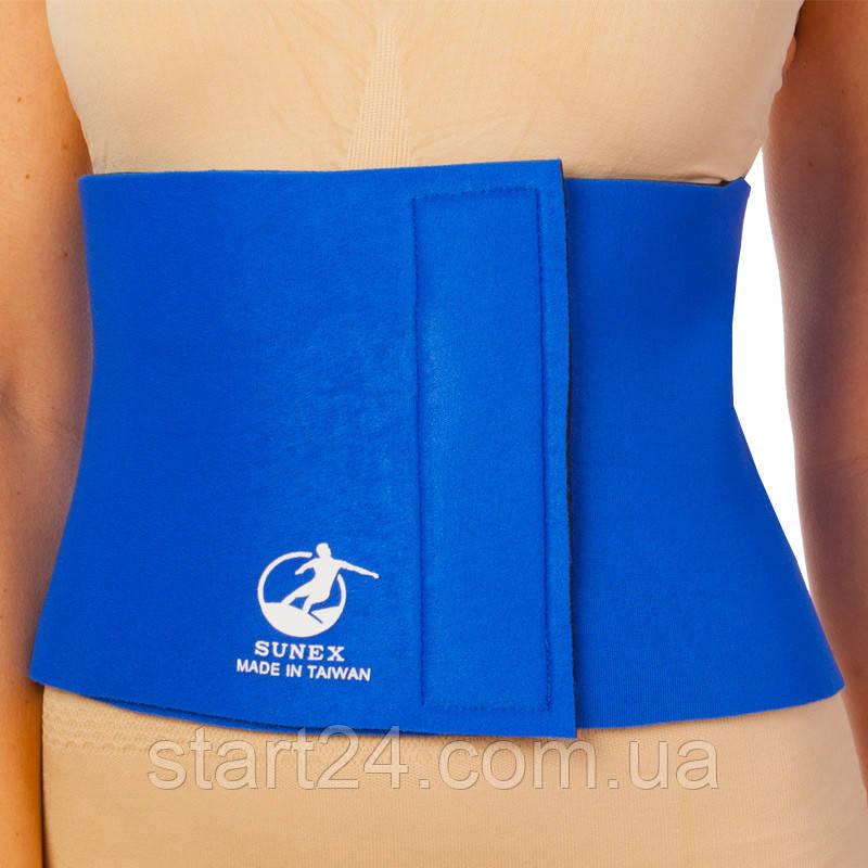 Пояс для похудения MONALISA ZD-3050 8in x 40in x 3мм (неопрен, р-р 20см x 100см x 3мм, синий)