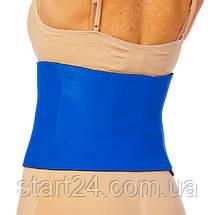 Пояс для похудения MONALISA ZD-3050 8in x 40in x 3мм (неопрен, р-р 20см x 100см x 3мм, синий), фото 2