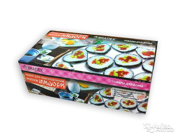 Набор для приготовления роллов и суши Мидори