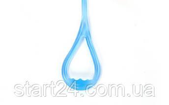 Эспандер гелевый плечевой 1жгут PS FI-1034-M (гель-силикон, синий, нагр.средняя,l-67см, вес-180г), фото 3