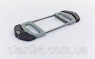 Эспандер кистевой и плечевой PS HG-102 (метал.пружина, d-2,3мм, l-52см, ручка пластик, рег.нагрузка)