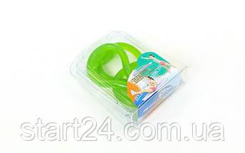 Эспандер гелевый плечевой 1жгут PS FI-1034-H (гель-силикон, зеленый, нагр.высокая,l-67см, вес-180г), фото 3