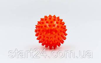 Мячик массажер резиновый SP-Planeta FI-5653-7 (d-7см, 40гр, цвета в ассортименте), фото 2