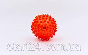 Мячик массажер резиновый SP-Planeta FI-5653-7 (d-7см, 40гр, цвета в ассортименте), фото 3