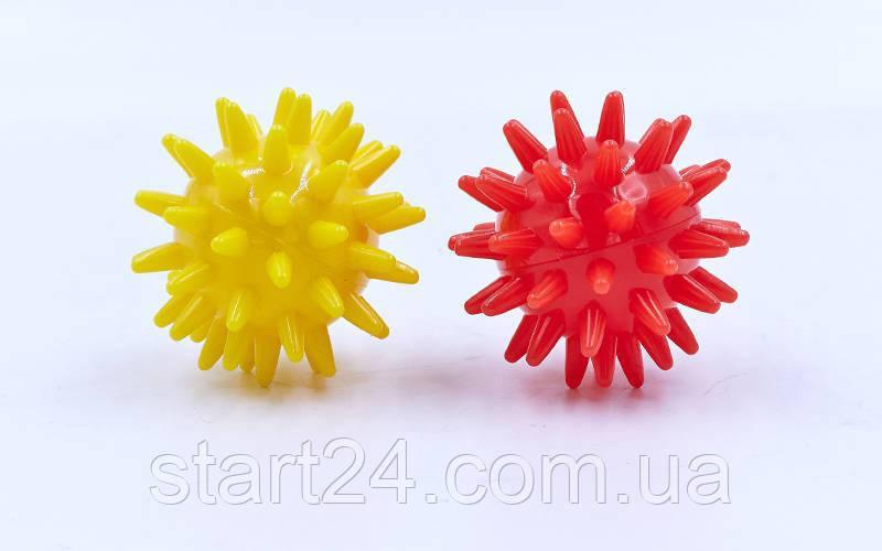 Мячик массажер резиновый SP-Planeta FI-2117-4_5 (d-4,5см, 30гр, цвета в ассортименте)
