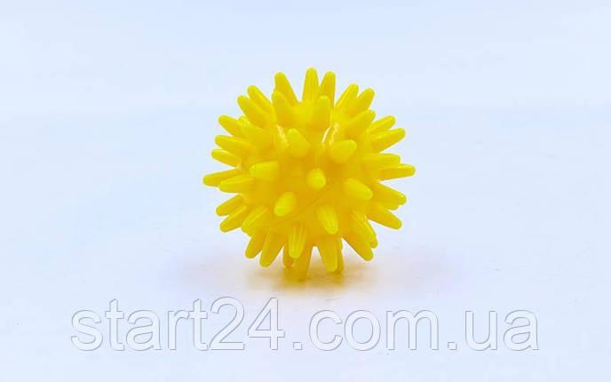 Мячик массажер резиновый SP-Planeta FI-2117-4_5 (d-4,5см, 30гр, цвета в ассортименте), фото 2