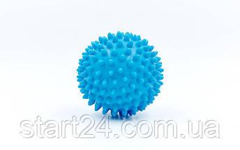Мячик массажер резиновый SP-Planeta FI-5653-10 (d-10см, 70гр, цвета в ассортименте), фото 2