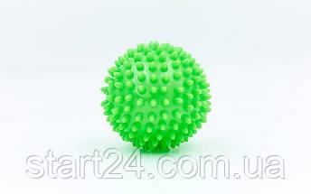 Мячик массажер резиновый SP-Planeta FI-5653-10 (d-10см, 70гр, цвета в ассортименте), фото 3
