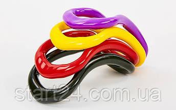 Кольцо для йоги YOGA HOOP FI-8230 (PP, р-р 23,5х12,5х8см, цвета в ассортименте), фото 3