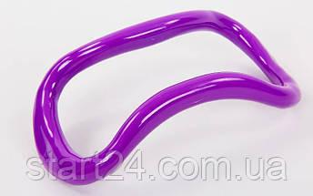 Кольцо для йоги YOGA HOOP FI-8230 (PP, р-р 23,5х12,5х8см, цвета в ассортименте), фото 2