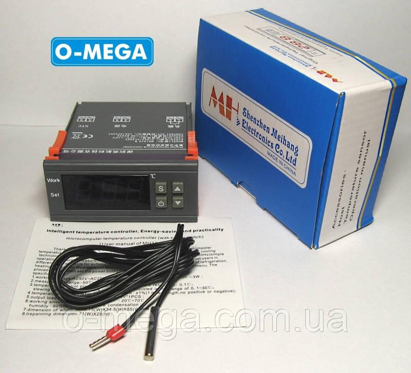 Терморегулятор для инкубатора MH1210W с порогом включения в 0.1 градус