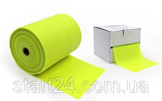 Лента эластичная для фитнеса и йоги в рулоне SP-Planeta (р-р 25мx15смx0,3мм) FI-4987-25 (силикон, цвета в ассортименте)