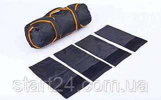 Сумка для кроссфита TRAINING BAG FI-5028 (терилен,нейлон,р-р 60х20см, 4 филлера до 10кг для песка)