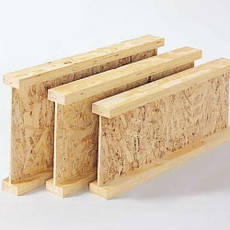 Тавры, двутавры деревянные