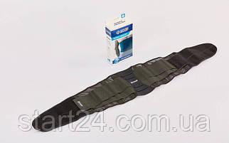 Пояс корсет для поддержки позвоночника PARAID 607613 (р-р S-XL см, черный)