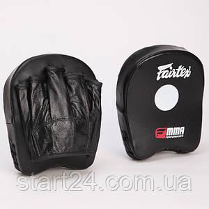 Лапа Прямая (2шт) PU FAIRTEX FTX015 MINI PAD (р-р 18x16x4,5см, черный)