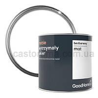 Лак для реставрации мебели Goodhome бесцветный мат 0,5 л