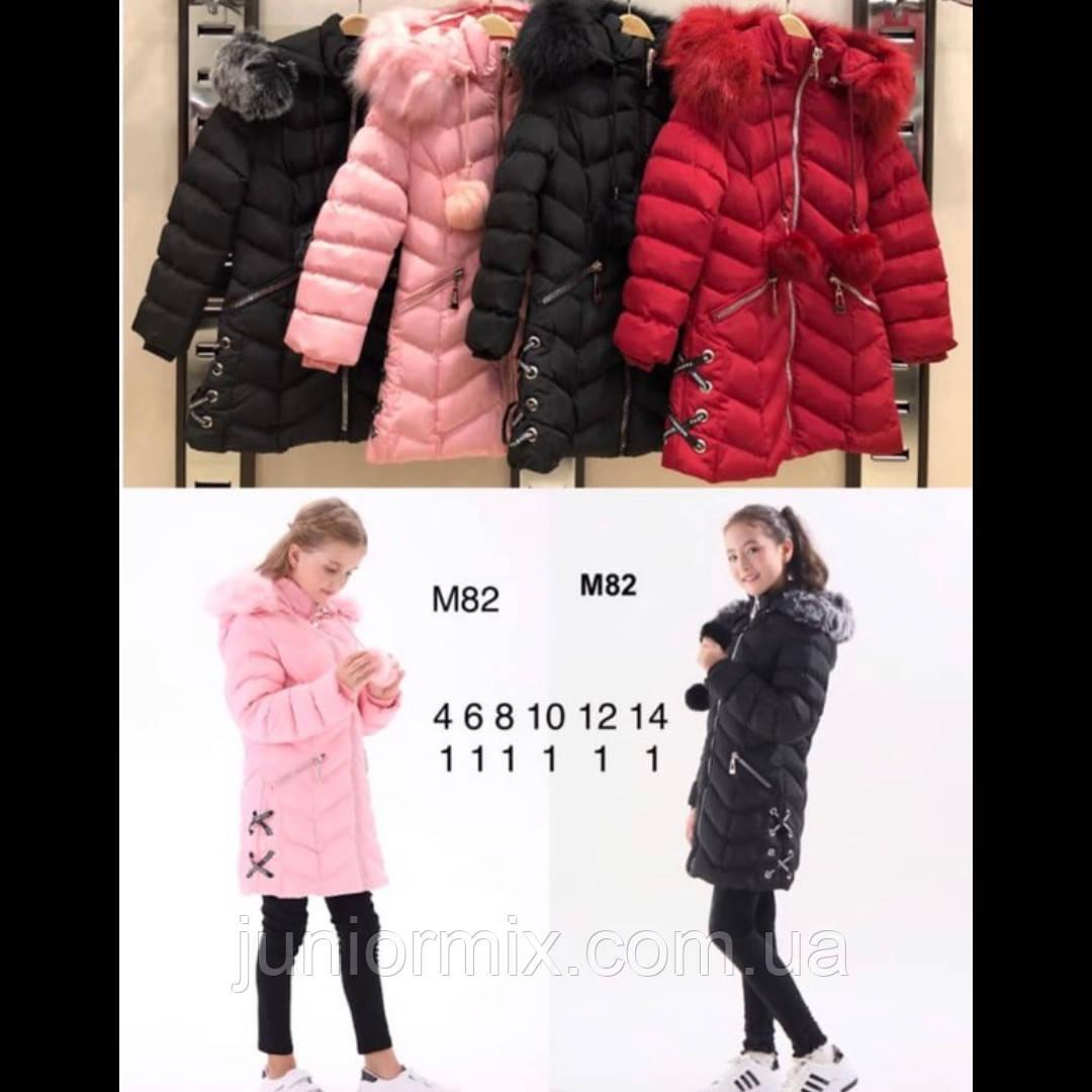 Зимняя детская куртка  для  девочек оптом NATYRE