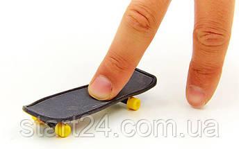 Фингерборд-мини скейт 2010C2 (1фингерборд,2зап.колеса,1отвер,2винтика,2зап.подвески,пластик,металл), фото 3