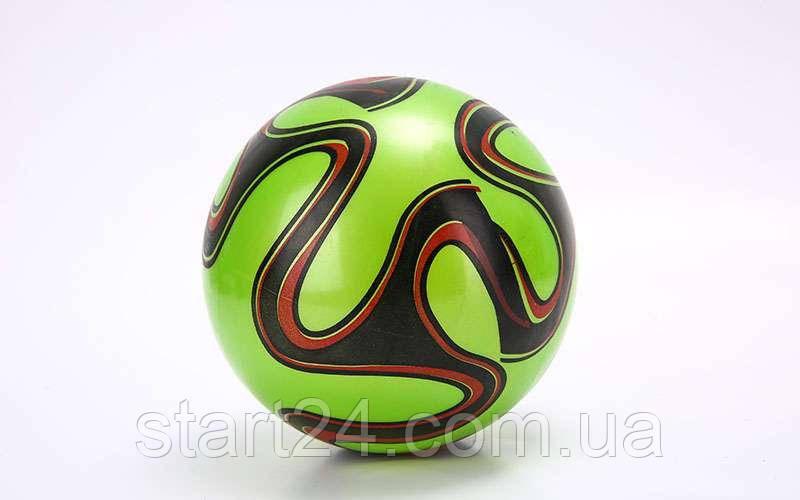 Мяч резиновый BA-6012 EURO 2016 (PVC, вес-70г, р-р 16-25см (6-10in), белый, синий, красный, фиолетовый,зеленый)