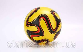 Мяч резиновый BA-6012 EURO 2016 (PVC, вес-70г, р-р 16-25см (6-10in), белый, синий, красный, фиолетовый,зеленый), фото 3