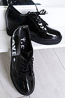 Ботинки женские черные L&L 85-3