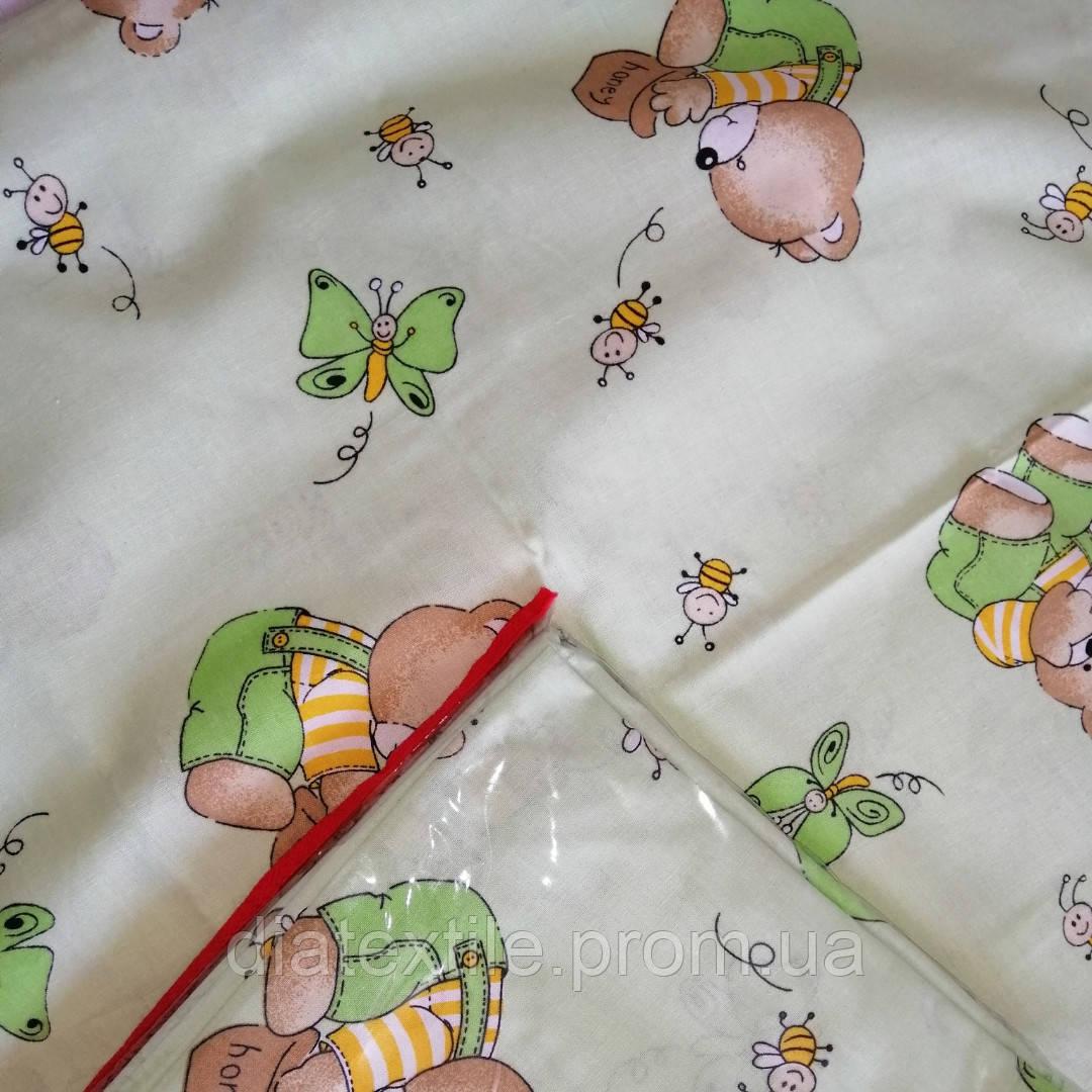 Постільний комплект в дитяче ліжечко 150*110