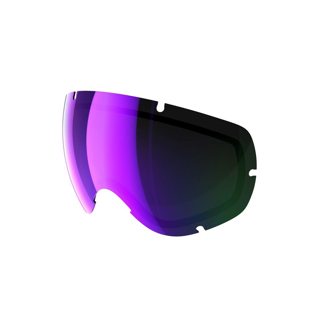 Cменная линза POC Lobes Spare Lens Grey/Purple Mirror